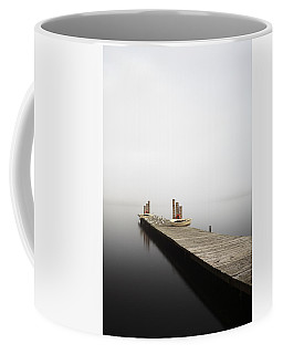 Coffee Mug featuring the photograph Loch Lomond Jetty by Grant Glendinning