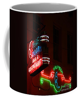 Coffee Mug featuring the photograph New Orleans Neon by Michael Hoard