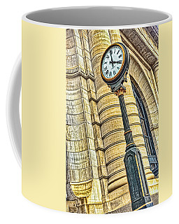 4 O'clock Train Coffee Mug by Sennie Pierson