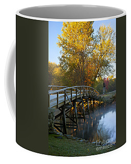 Coffee Mug featuring the photograph Old North Bridge Concord by Brian Jannsen