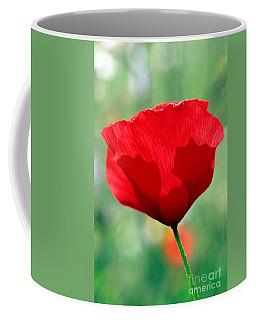 Poppy Flower Coffee Mug