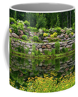Rocks And Plants In Rock Garden Coffee Mug