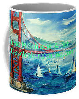 San Francisco Golden Gate Bridge Coffee Mug