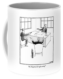 Uh, Trudy, How's The Coffee Coming? Coffee Mug