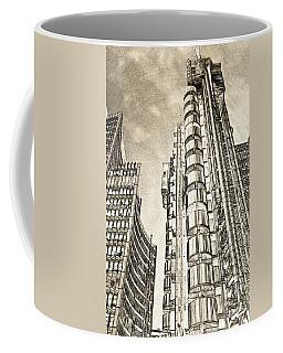 Willis Group And Lloyd's Of London Art Coffee Mug