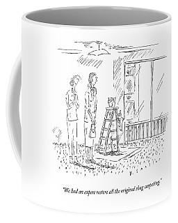 We Had An Expert Restore All The Original Shag Coffee Mug
