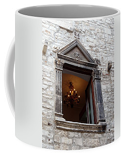 Views Of Split Croatia Coffee Mug by Richard Rosenshein