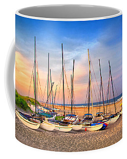41st Street Sailing Beach Coffee Mug