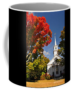 Lunenburg, Ma - Fall Foliage Coffee Mug