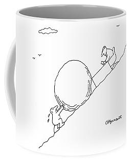 Business Sisyphus Coffee Mug