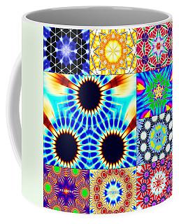 432hz Cymatics Grid Coffee Mug