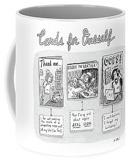 Cards For Oneself Coffee Mug