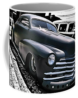 Coffee Mug featuring the photograph '47 Chevy Lowrider by Victor Montgomery
