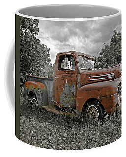 Coffee Mug featuring the photograph '49 Ford Pick-up by Christopher McKenzie