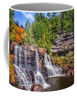 Blackwater Falls Coffee Mug by Mary Almond