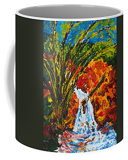 Burch Creek Waterfall Coffee Mug