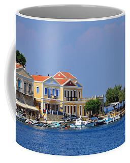 Colorful Symi Coffee Mug