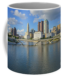 Fx1l-802 Columbus Ohio Skyline Photo Coffee Mug