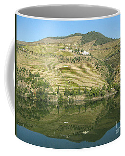 Coffee Mug featuring the photograph Douro River Valley by Arlene Carmel
