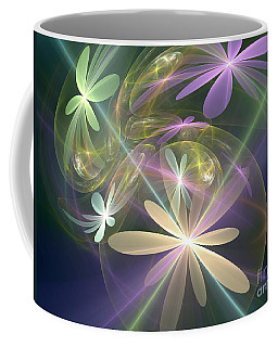 Ethereal Flowers Coffee Mug by Svetlana Nikolova