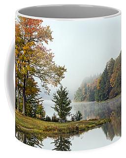 Foggy Fall Morning Coffee Mug