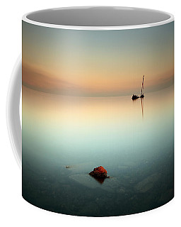 Flat Calm Shipwreck  Coffee Mug
