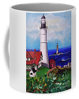 Lighthouse Hill Coffee Mug