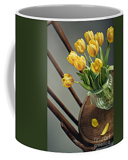 Still Life With Yellow Tulips Coffee Mug
