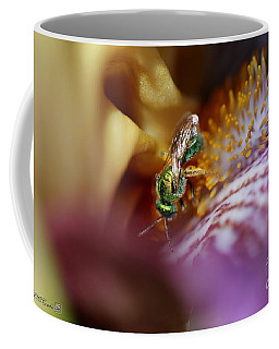 Tall Bearded Iris Named Final Episode Coffee Mug