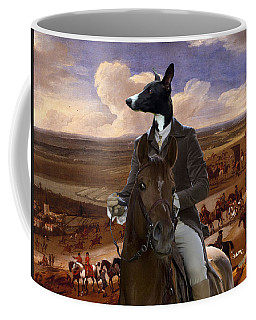 Whippet  Art Canvas Print Coffee Mug