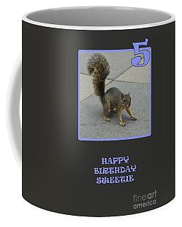 Coffee Mug featuring the photograph 5 Years Old by Randi Grace Nilsberg