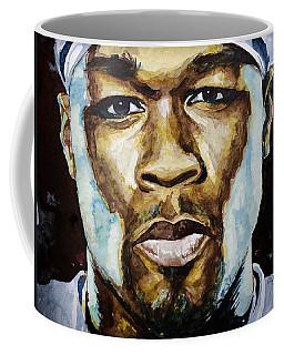 50 Cent Coffee Mug by Laur Iduc
