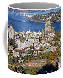 High Angle View Of Buildings In A City Coffee Mug
