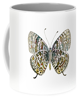 51 Lang's Short-tailed Blue Butterfly Coffee Mug