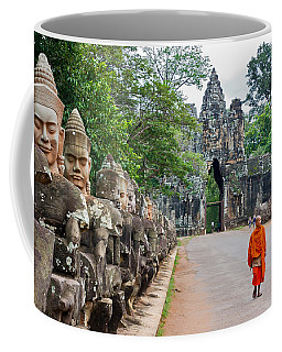 54 Gods And A Monk Coffee Mug