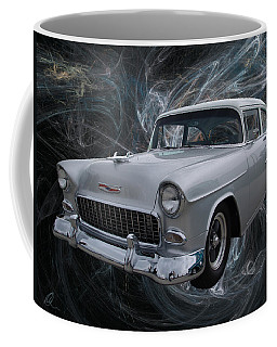 55 Chevy Coffee Mug by Chris Thomas