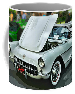 Coffee Mug featuring the photograph '56 Corvette by Victor Montgomery