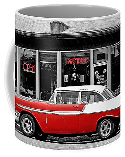 Coffee Mug featuring the photograph '56 Tattoo by Christopher McKenzie