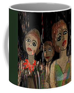 562 - Three Young Girls   Coffee Mug