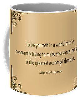 58- Ralph Waldo Emerson Coffee Mug