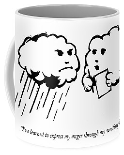 I've Learned To Express My Anger Coffee Mug