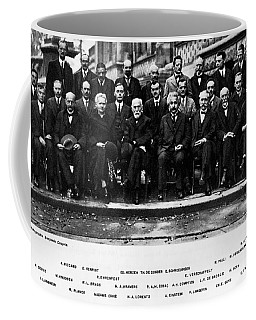5th Solvay Conference Of 1927 Coffee Mug