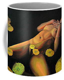 Coffee Mug featuring the painting 6 30 A.m. by Thu Nguyen