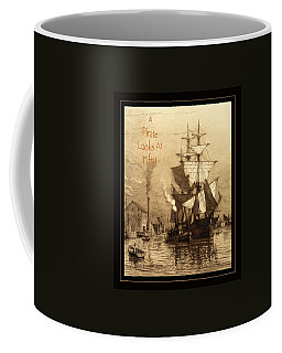 A Pirate Looks At Fifty Coffee Mug by John Stephens