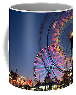 Evergreen State Fair With Ferris Wheel Coffee Mug