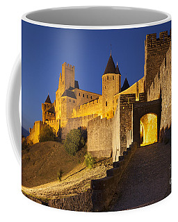 Coffee Mug featuring the photograph Medieval Carcassonne by Brian Jannsen
