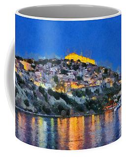 Molyvos Town In Lesvos Island Coffee Mug
