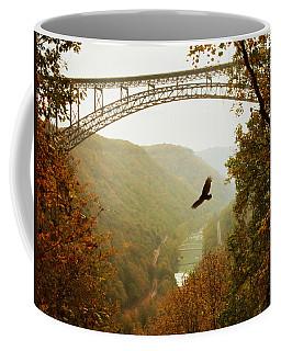 New River Gorge Bridge Coffee Mug by Mary Almond