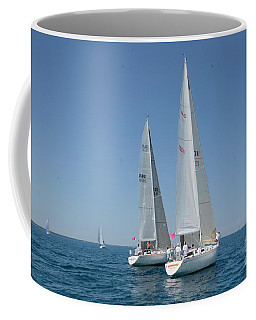 Sailboat Race Coffee Mug