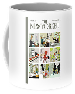 New Yorker February 25th, 2008 Coffee Mug